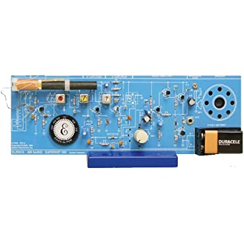 Elenco  AM Radio Kit [ Combo IC & Transistor ]    [ SOLDERING REQUIRED ]