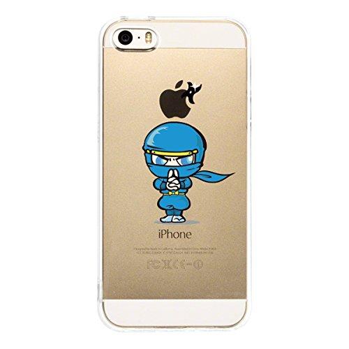 iPhone5 iPhone5S Transparent shell Ninja I weak to light !