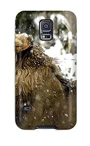 Galaxy Lion Awesome High Quality Galaxy S5 Case Skin