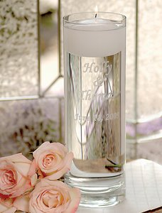 Personalized Floating Unity Candles Customize: (Floating Unity Candle)