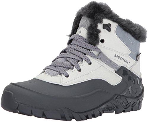 Merrell Damen Aurora 6 Ice+ Waterproof Trekking-& Wanderhalbschuhe Grau (AshFlash)