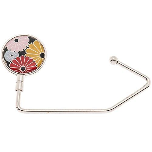 100 Womens Retro Floral Design Hooks by SilverHooks
