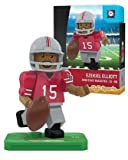 NCAA Ohio State Buckeyes Ezekiel Elliott Gen 2 Player Mini Figure, Small, Black