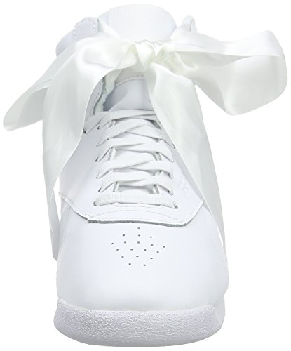 White a Multicolore Hi Bow Collo Donna White Sneaker Skull Skull Grey Alto Satin Freestyle Reebok Grey wOxSpgn