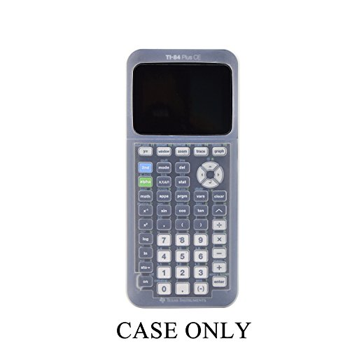 Silicone Case for Ti-84 Plus CE Texas Instruments Graphing Calculator,Soft Protective Ti 84 Plus CE Case … by Arisll