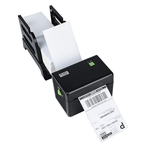 MFLABEL Printer and Label Holder - Commercial Grade Direct Thermal High Speed Printer - Compatible with Etsy, Ebay, Amazon - Barcode Printer - 4x6 - Ups Printer Thermal