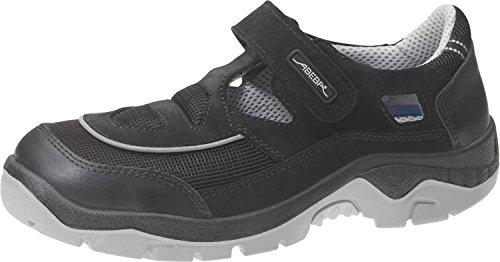 Abeba 2289–36Anatom–Zapatos de seguridad sandalia, Negro, 2289-41