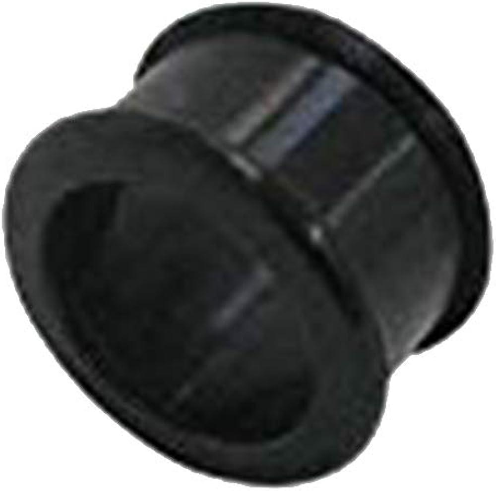 BodyJewelryOnline Surgical Steel Spike Ear Stretcher with Gem 14 Gauge