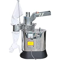 CGOLDENWALL 40kg/h Automatic Floor-standing Continuous Hammer Mill Grinder Pulverizer for Grain Soybean Spice Herb 110V…