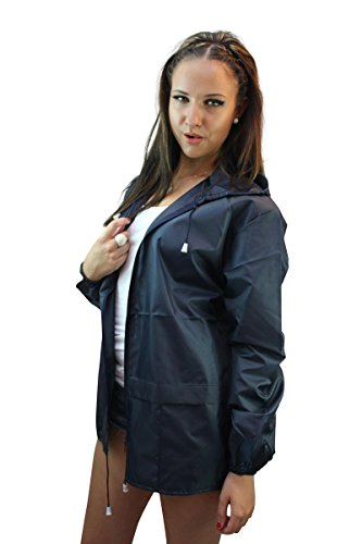Proof Threw Away Shower Cagoule Navy Kagool Mac Festival ZPp7W1Twq