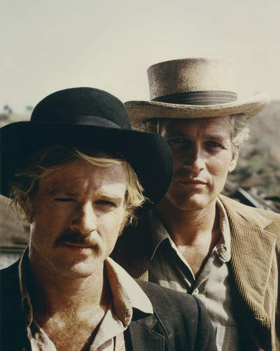 - Paul Newman and Robert Redford in Butch Cassidy and the Sundance Kid 8x10 Promotional Photograph