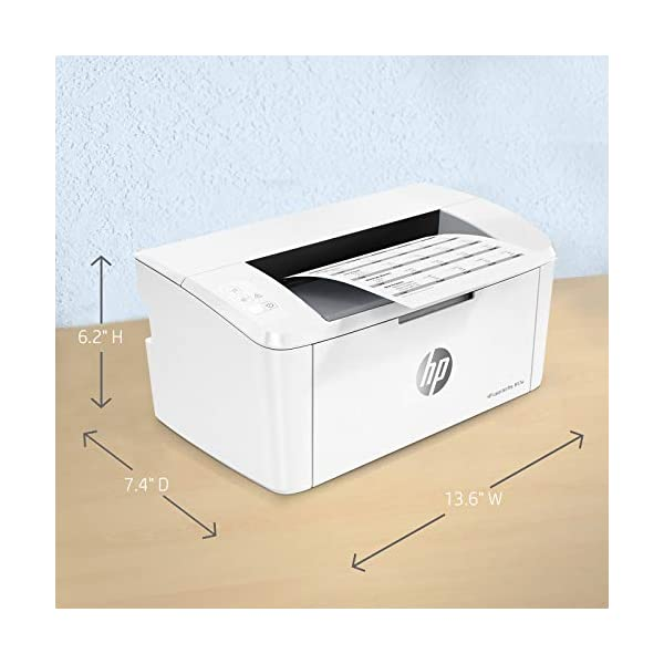HP Laserjet Pro M17w Single Function Wireless Laser Printer 4