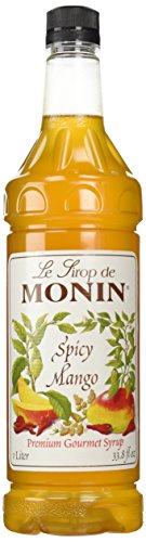 Monin Spicy Mango Mixer, 1 liter
