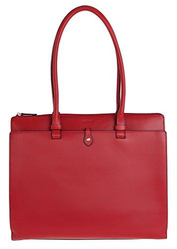 Lodis Audrey Jessica Work Satchel Shoulder Bag, Red, One Size (Audrey Lodis Satchel)