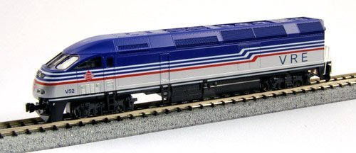 Kato USA Model Train Products MPI MP36PH  V52 Virginia Railway Express N Scale Train by Kato Trains