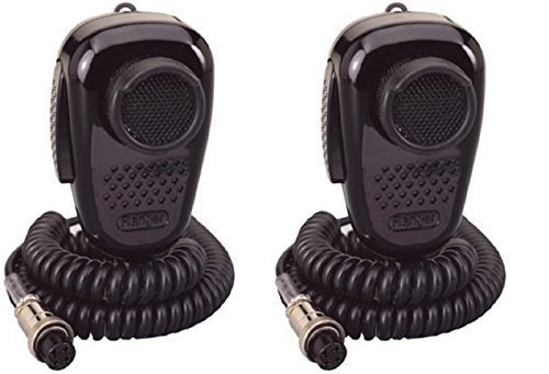 LOT OF 2 RANGER SRA -198 NOISE CANCELING CB RADIO MICROPHONE - Ca 198