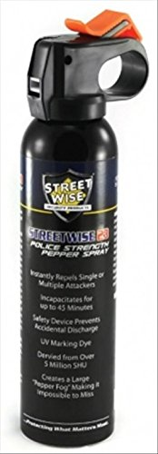 Streetwise Security Products Police Strength Streetwise 23 Pepper Spray, 9-Ounce, Fire -