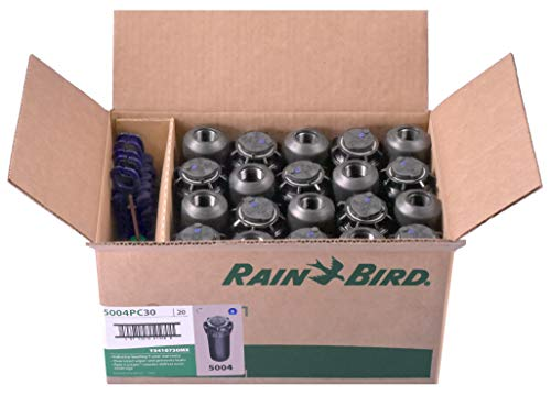 (20 Rain Bird Adjustable Rotor Heads 5004 PC Sprinklers With Nozzles (20))