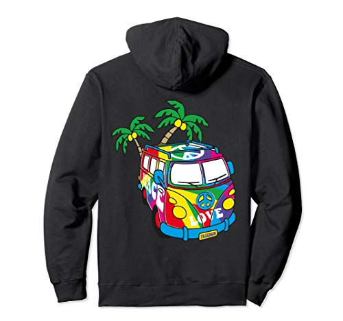 Peace Love Sign 60s 70s 80s Hippie Gifts NuL Retro Hoodies