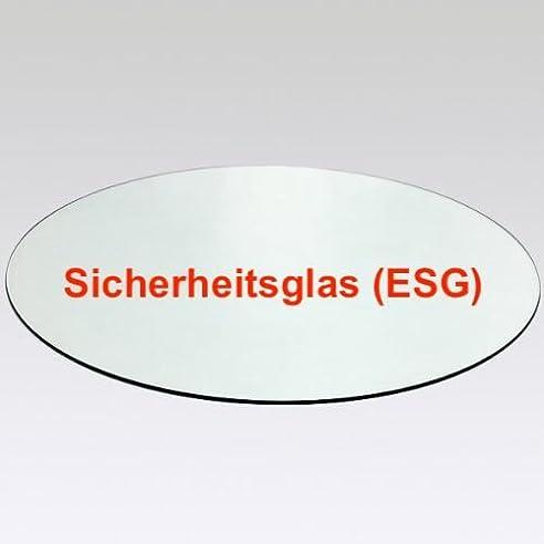 Elegant Glasplatte Rund,glasscheibe Rund,tischplatte Rund Klarglas Ø 80 Cm  Durchmesser, Glasstärke 10 Home Design Ideas
