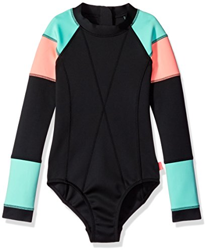 Seafolly Big Girls' Native Surf L/s Tank, Black, 12 by Seafolly