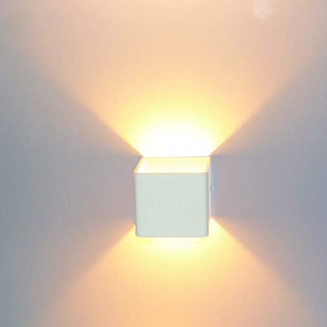 a3720680efae Lightess 5W LED Up Down Wall Light Living Room Lights Wall Lamp LED  Spotlight Night Light for Bedroom Lamps Hallway, 3000K Warm White:  Amazon.co.uk: ...