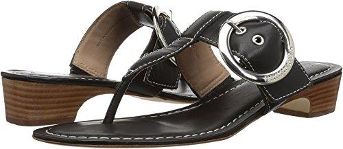 - Bernardo Women's Grace Wedge Sandal, Black Antique Calf, 6M M US