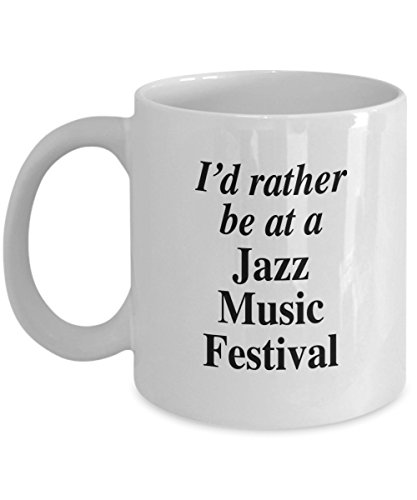 (Love the Jazz Music festivals - wonderful good times listening mug)