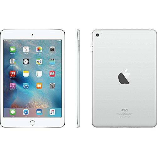 Apple iPad mini 4 Tablet (128GB, Silver, 7.9 Inch, 2017 Model, WiFi) + Accessories Bundle (10,000mAh iPad Power Bank, iPad Stylus Pen, Microfiber Cloth) MK9P2LL/A by Apple Tablet (Image #3)