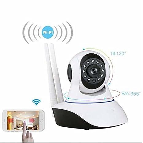 Cámara de vigilancia wifi hd Soporte Micro SD Card, iluminación infrarroja, audio integrada para