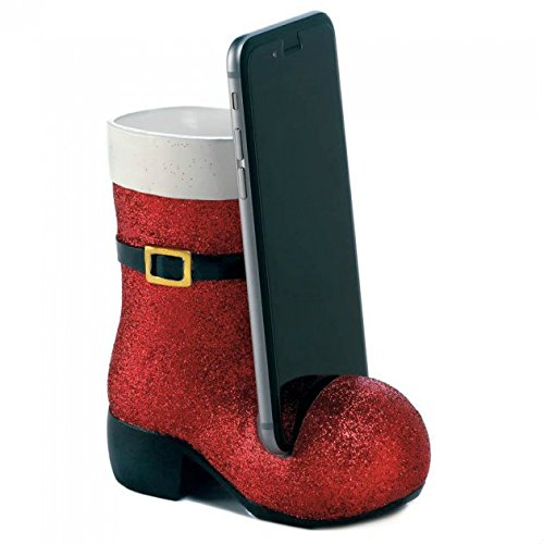 Sparkly Santa Boot Phone -