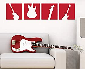 Music Wall Decals for Living Room, Home Decor, Waterproof Wall Stickers