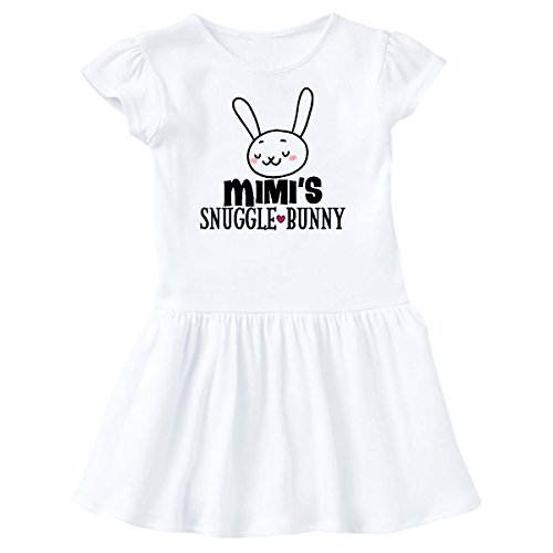 inktastic - Mimi Easter Bunny Outfit Toddler Dress 2T White 2ecde -