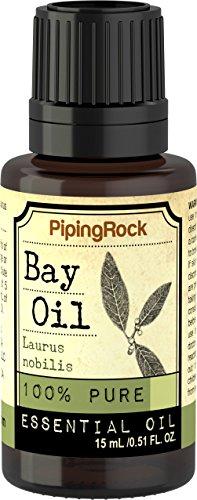 Piping Rock Bay 100% Pure Essential Oil 1/2 oz (15 ml) Dropper Bottle Laurus Nobilis Therapeutic Grade