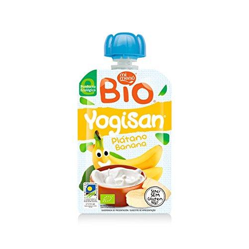 Mi Menú Yogisan BIO Bolsita Platano 90 g [Pack de 7uds]: Amazon.es: Alimentación y bebidas