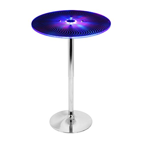 LumiSource Spyra LED Light-Up Bar Table ()