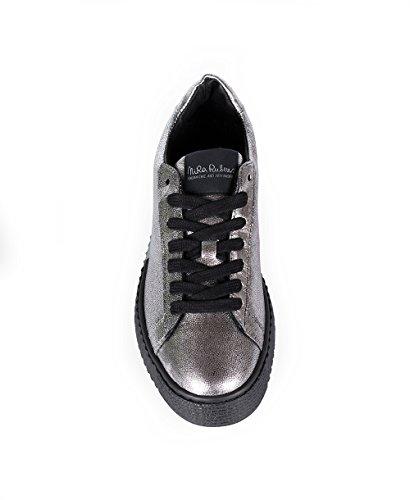 Fucile Sneaker Grigio Pelle di Laminata Canna Rubens Nira 5zOwYx