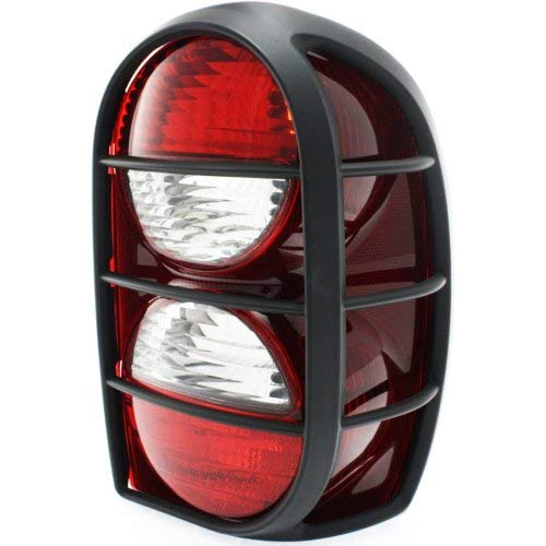 Garage-Pro Tail Light for JEEP LIBERTY 05-06 RH Lens and Housing w/Air Dam Renegade Model