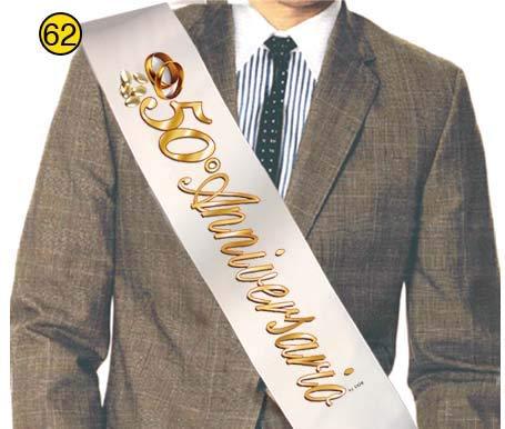 Idea Regalo Gadget Scherzo per Le Nozze doro e per la Coppia Che festeggia Il Proprio Anniversario Dream s Party La Fascia del 50/° Anniversario di Matrimonio