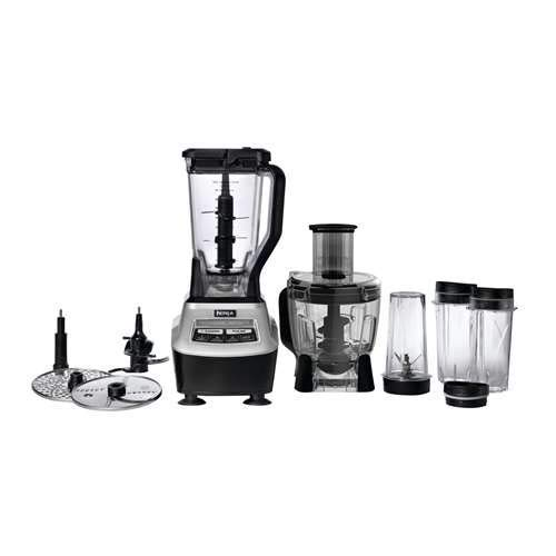 Ninja Mega Kitchen System, Silver/Black BL773CO (Renewed)