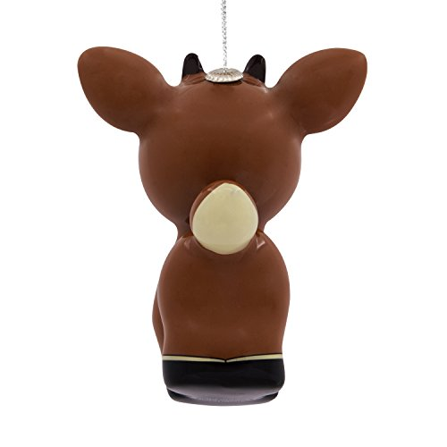 Hallmark Rudolph the Red-Nosed Reindeer Decoupage Christmas Ornament