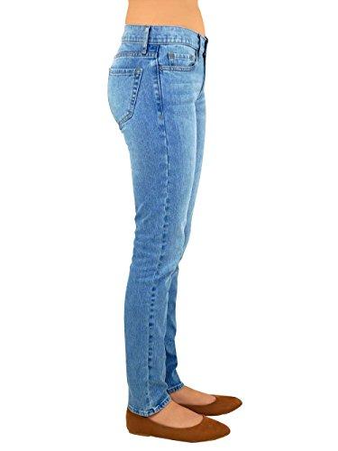 166752671c Pantalon de Mezclilla Azul Marino Corte Entubado  Amazon.com.mx  Ropa