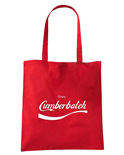 ENJOY Shopper CUMBERBATCH ENJOY0048 Borsa Rossa q4RB7ff1