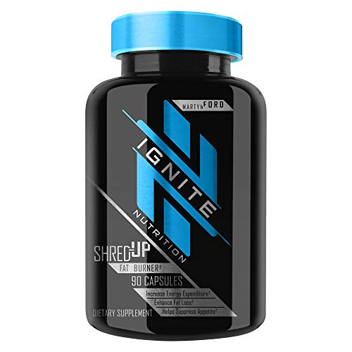Martyn Ford Ignite Nutrition - Shred-Up Fat Burner (90 Capsules)