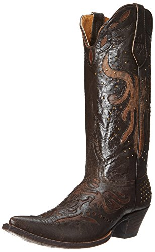 Cinch Women's Bentley, Dark Brown, 6.5 B US (Cinch Cowboy Boots Womens)