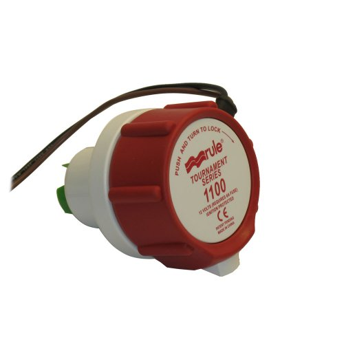 Rule 47DR Marine Rule 1100 Replacement Motor for Tournament Series Livewell (Tournament Series)
