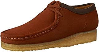 CLARKS Men's Wallabee Dark Tan Suede Oxford 9.5 D (M) (B01AAVE9KK) | Amazon price tracker / tracking, Amazon price history charts, Amazon price watches, Amazon price drop alerts