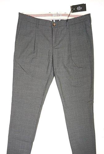 NEW $495 ELEVENTY GRAY 95% WOOL PENCES TRAVEL PLEATED CUFFED DRESS PANTS SZ 36 by Eleventy (Image #5)