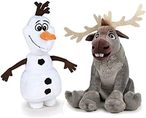 Disney Frozen - Pack 2 Peluches Calidad Super Soft - Olaf muñeco ...