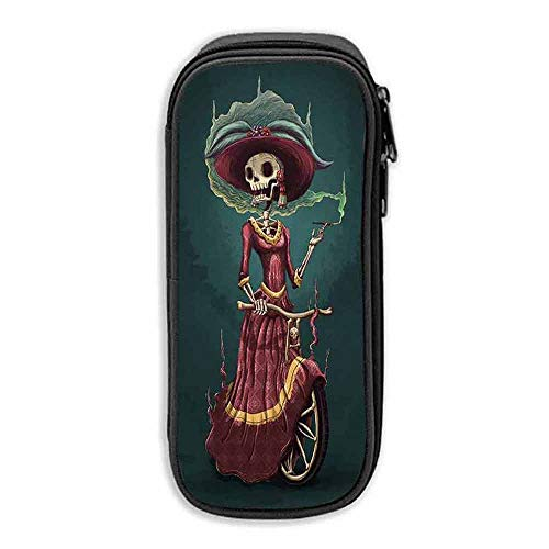 Pencil Bag Pen Case Happy Halloween Zombie Bride ipad pro 10 5 case with Pencil Holder -